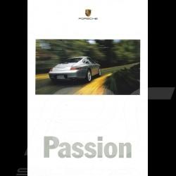 Porsche Broschüre Passion 1999 USA