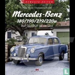 Buch Mercedes-Benz 180/190/219/220a Auf Qualität ist Verlass - Peter Kurze