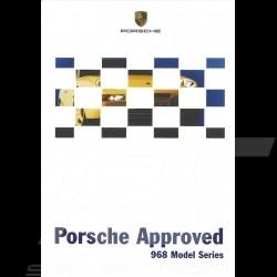 Porsche Broschüre Approved 968 Model Series 06/1999 in englisch LGB20010077