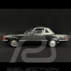 Mercedes Benz 300 SL 1986 blueblack metallic 1/18 Norev 183726