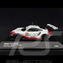 Porsche 911 GT3 RSR type 991 n° 94 24H Le Mans 2018 1/43 IXO LE43023