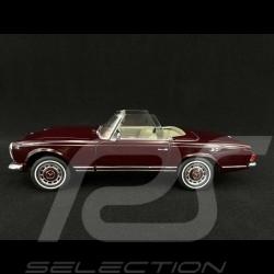 Mercedes Benz 280 SL Pagode W113 1963 rouge bordeaux 1/18 Schuco 450035800