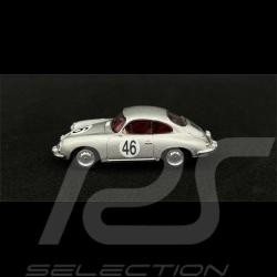 Porsche 356 Carrera 2 C n° 46 1964 gris argenté silver Silber 1/64 Schuco 452032000