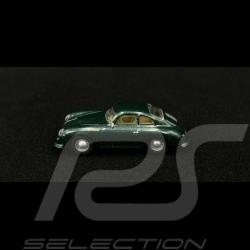 Porsche 356 A Coupé 1956 vert métallisé green grün metallic 1/87 Schuco 452658000