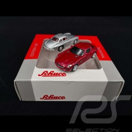 Mercedes Benz 300 SL & Mercedes Benz AMG SLS Set of 2 magnets 1/87 Schuco 452490000