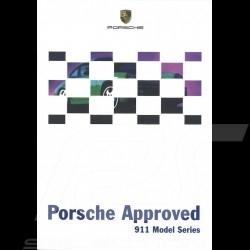 Porsche Broschüre Approved 911 Model Series 06/1999 in englisch LGB20010076