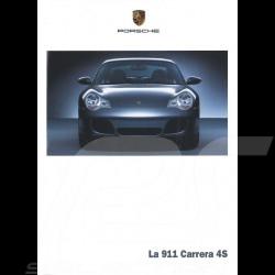 Porsche Broschüre La 911 type 996 Carrera 4S 01/2002 in Schweizer Französisch 025001,02F4
