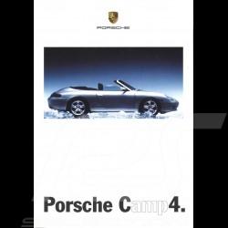 Porsche Broschüre Camp4. 1998 in Deutsch