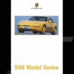 Porsche Broschüre 968 Model Series 02/1998 in englisch LGB20010005
