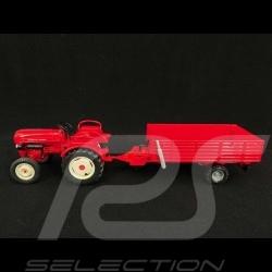 Set Porsche Diesel Tractor Junior with Trailer 1/24 Porsche MAP02485018 + MAP02485118