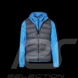 Porsche Jacket Sleeveless / windbreaker 2 in 1 GT3 Collection shark blue / charcoal grey WAP811MGT3 - men