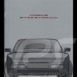 Porsche Brochure 944 S 2 / 944 S 2 Cabriolet 08/1990 in french WVK127030