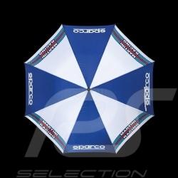 Parapluie Sparco Martini Racing bleu marine / blanc 09968MR Umbrella Regenschirm