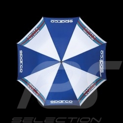 Sparco Regenschirm Martini Racing marineblau / weiß 09968MR