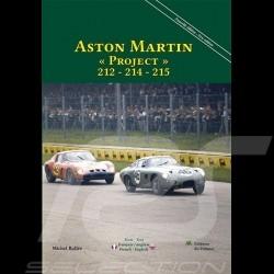 Livre Aston Martin « Project » 212 – 214 – 215