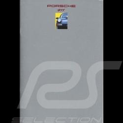 Porsche Brochure 911 08/1992 in german WVK12711093