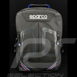 Sac à dos Backpack Rucksack Martini Racing Noir / Bleu Sparco 016440MR