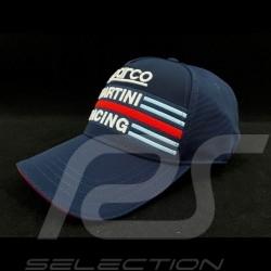 Casquette Sparco Martini Racing bleu marine 001282MRBM