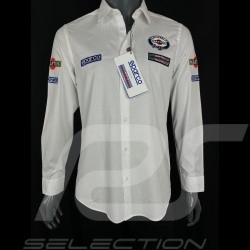 Chemise Shirt Hemd Martini Racing Blanche Sparco 01277MR