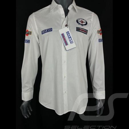 Martini Racing Shirt White Sparco 01277MR