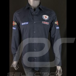 Chemise Shirt Hemd Martini Racing Bleu marine Sparco 01277MR