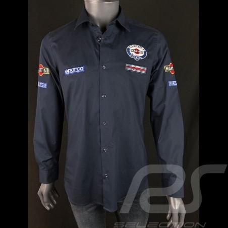 Martini Racing Shirt Navy blue Sparco 01277MR