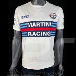 T-Shirt Martini Racing Blanc - homme Sparco 01274MRBI