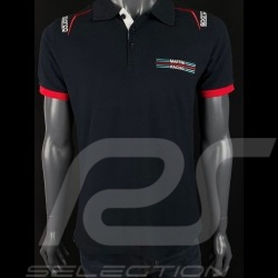 Martini Racing Polo shirt Navy blue Sparco 01276MR