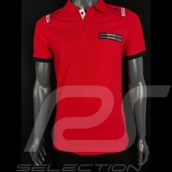 Polo Martini Racing Rouge Sparco 01276MR