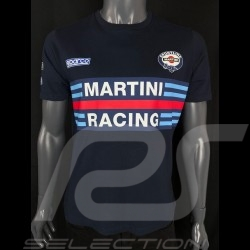 T-Shirt Sparco Martini Racing Bleu Marine - homme 01274MRBM