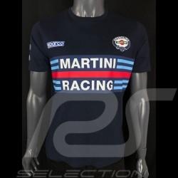 T-Shirt Sparco Martini Racing Navy blue- men 01274MRBM