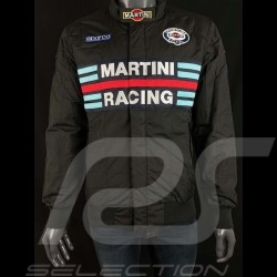 Sparco Martini Racing Team Jacket Bomber design black - men 01281MRNR