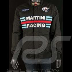 Veste Sparco Martini Racing coupe Bomber noir - homme 01281MRNR