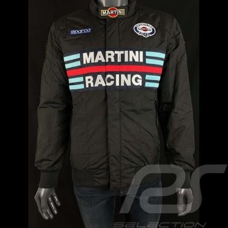 Sparco Martini Racing Team Jacket Bomber design black - men 01281MRNR