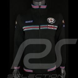 Martini Racing  Jacke Fullzip Sweatshirt Schwarz Sparco 01278MR
