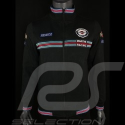 Martini Racing Jacket Fullzip Sweatshirt Black Sparco 01278MR