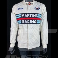Sparco Martini Racing Team Jacket Bomber design white - men 01281MRBI