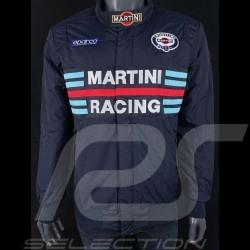 Veste Sparco Martini Racing coupe Bomber bleu marine - homme 01281MRBM