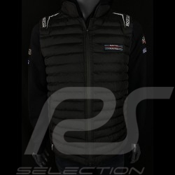 Martini Racing Jacket Sleeveless Quilted Black Sparco 01259MR