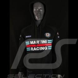 Sweatshirt Sparco Martini Racing Hoodie Schwarz - Herren 01279MRNR