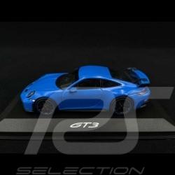 Porsche 911 GT3 type 992 2021 shark blue 1/43 Minichamps WAP0201490M005