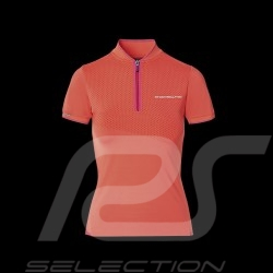 Porsche Polo Shirt Sport Collection Koralle / Rosa WAP538M0SP - Damen