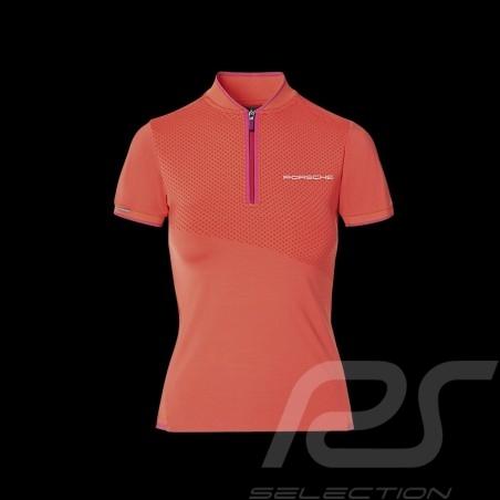 Porsche Polo shirt Sport Collection Coral / Pink WAP538M0SP - women