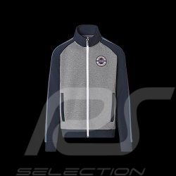 Porsche Jacket Martini Racing Fullzip Sweatshirt Heather gray / Navy blue WAP551M0MR - men