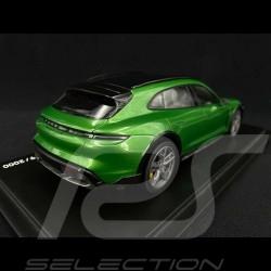 Porsche Taycan Turbo S Cross Turismo 2021 Mamba green metallic 1/18 Minichamps WAP0217830M001