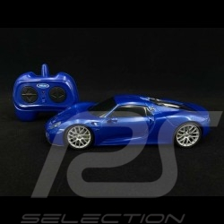 Porsche 918 Spyder Radio controlled sapphire blue 1/24 Porsche MAP02481018