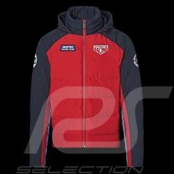 Veste Jacket Jacke Porsche Martini Racing 1971 matelassée paddes gepolstert Rouge / bleu foncé WAP550M0MR - homme