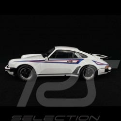 Porsche 911 Turbo 3.0 type 930 1976 white Martini 1/18 KK Scale KKDC180572