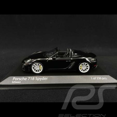 Porsche 718 Spyder type 982 2020 Black 1/43 Minichamps 410067701