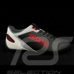 Chaussure de conduite Sparco Sneaker sport SL-17 noir / blanc / rouge / gris - homme